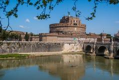 ` Angelo Castel Sant Стоковое Изображение RF