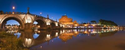 angelo castel sant rome Fotografering för Bildbyråer