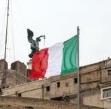Angelo Castle στη Ρώμη Στοκ εικόνες με δικαίωμα ελεύθερης χρήσης