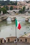 Angelo Castle στη Ρώμη Στοκ Φωτογραφίες