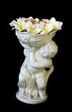 Angelo ceramico del candeliere Fotografia Stock Libera da Diritti