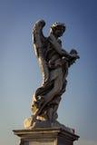 Angelo con la corona delle spine Immagini Stock
