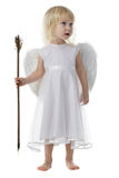 Angelo con la freccia del Cupid immagini stock libere da diritti