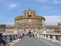 ` Angelo de Castel Sant à Rome en Italie images libres de droits
