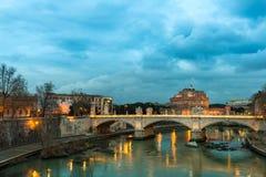 ` Angelo de Castel Sant Foto de Stock