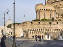 ` Angelo de Castel Sant fotografia de stock royalty free