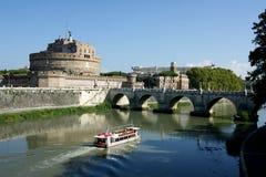 ` Angelo de Castel Sant e ` Angelo de Sant do ponte Imagens de Stock
