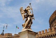 Angelo del castello di Sant'Angelo Immagini Stock Libere da Diritti