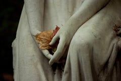 Angelo del cimitero Fotografie Stock Libere da Diritti