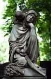 Angelo del cimitero Fotografie Stock