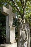 Angelo del cimitero Immagine Stock