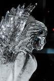 Angelo del ghiaccio Fotografie Stock Libere da Diritti