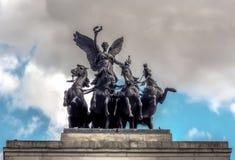 Angelo del monumento di pace immagine stock libera da diritti