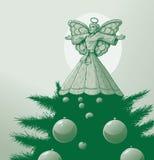 Angelo dell'albero Fotografie Stock