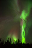 Angelo dell'aurora boreale fotografia stock libera da diritti