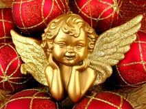 Angelo dell'oro Fotografie Stock Libere da Diritti