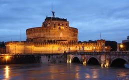 Angelo della st del castello Immagine Stock