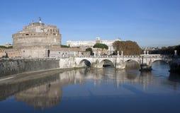 Angelo della st del castello, Roma Fotografia Stock Libera da Diritti