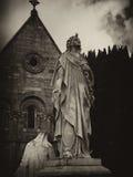 Angelo della stella di Glasnevin Fotografia Stock Libera da Diritti