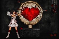 Angelo di amore Immagini Stock