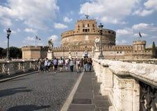 ` Angelo di Castel Sant in Parco Adriano, Roma, Italia Fotografie Stock