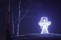 Angelo di illuminazione Fotografie Stock Libere da Diritti