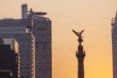 Angelo di indipendenza, Città del Messico immagine stock