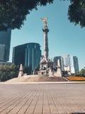 Angelo di indipendenza, Messico City, Messico fotografie stock libere da diritti