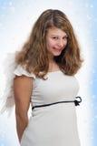 Angelo di Natale Fotografie Stock Libere da Diritti