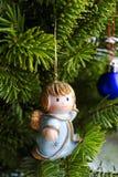 Angelo di Natale Immagini Stock