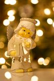 Angelo di Natale Fotografia Stock Libera da Diritti