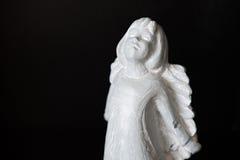 Angelo di pietra 2 Fotografie Stock Libere da Diritti