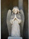 Angelo di preghiera Fotografie Stock Libere da Diritti