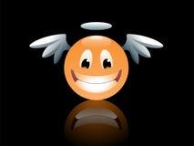 Angelo di smiley royalty illustrazione gratis