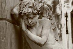Angelo di sonno Fotografia Stock
