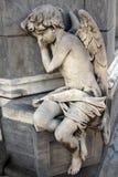 Angelo di sonno Fotografie Stock Libere da Diritti