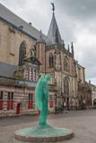 Angelo di vetro in Zwolle Immagini Stock