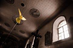 Angelo giallo Fotografie Stock Libere da Diritti