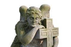 Angelo grave Immagine Stock