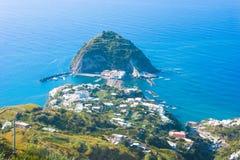 angelo ischia Italy sant Fotografia Royalty Free