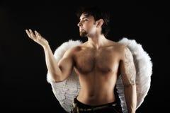 Angelo maschio fotografie stock libere da diritti