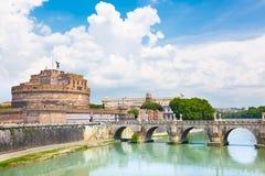 angelo mosta kasztel Italia Rome sant Zdjęcia Stock