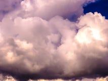 Angelo nel cielo Fotografie Stock