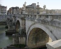 Angelo ponte Ρώμη Άγιος Στοκ φωτογραφίες με δικαίωμα ελεύθερης χρήσης