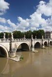 Angelo ponte Ρώμη sant Στοκ Εικόνες