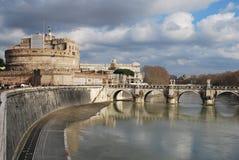 ` Angelo Rome Italy di Castel Sant Fotografia Stock Libera da Diritti