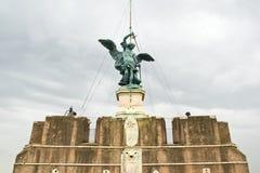 angelo slott italy sant rome Fotografering för Bildbyråer