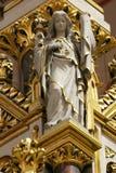 Angelo, statua sull'altare principale nella cattedrale di Zagabria Fotografia Stock