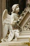 Angelo, statua sull'altare principale nella cattedrale di Zagabria Fotografie Stock Libere da Diritti