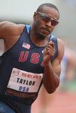 Angelo Taylor (Etats-Unis) Image stock